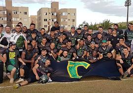 Crocodiles bate São José Istepôs na estreia do Campeonato Brasileiro de Futebol Americano